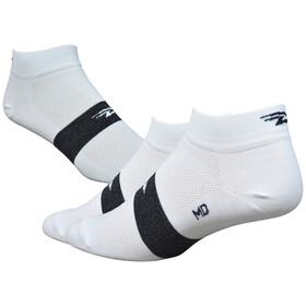 "DeFeet Aireator 1"" Socks, team defeet white/black stripe"